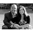 Dr. Bianca Calderon-Brown and Randall Brown